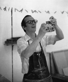 Javier Puncheta. Retrato de Carlos Jurado. Xalapa. 1975. Col. Instituto de Artes Plásticas UV