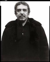 Richard Avedon Gabriel Garcia Marquez writer New York January 7 1976