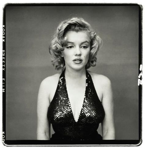 Richard Aeedon. Marilyn Monroe, actriz, New York City, Mayo 6, 1957