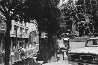 Lee Friedlander Mechanic's Monument San Francisco, 1972