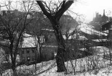 Lee Friedlander Pittsburgh, PA Plate 2 from %22Factory Valleys%22 1980