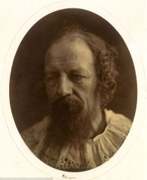 Julia Margaret Cameron. Lord Alfred Tennyson (Retrato, 1866)