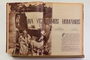Alguna vez fuimos humanos MAÑANA No 393 10 3 51 pp44-45. Foto © Óscar Colorado (Con autorización de la Hemeroteca Nacional, UNAM)