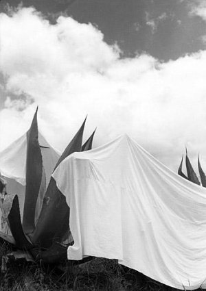 Manuel Álvarez Bravo. Las lavanderas sobreentendidas (1932)