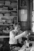 Alberto Giacometti, Stampa, Switzerland 1961 Henri Cartier-Bresson