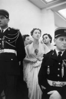 Inauguración del festival de Cannes 1953 Henri Cartier-Bresson