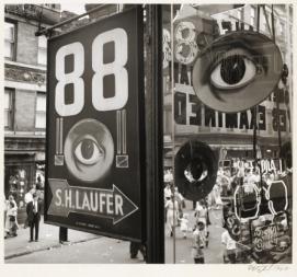 Bill Witt (American, b. 1921) The Eye, Lower East Side, 1948