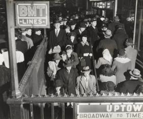 David Robbins. Subway Station, c. 1944