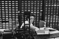 Ensayo %22Bankers Trust Company%22 Nueva York 1960 Henri Cartier Bresson 12