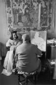 Henri Matisse, Vence, France 1944 Henri Cartier-Bresson