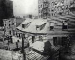Dwellings of Death. c1880-90s. Jacob Riis