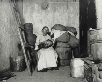Jacob Riis Home of an Italian Rag-Picker on Jersey Street 1894