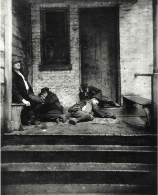 Jacob Riis Street Arabs in Sleeping Quarters c1880-90s