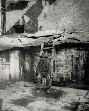 Jacob Riis The Tramp c1880-90s