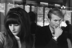 Jean-Marie Le Clézio with His Wife, Paris 1965v