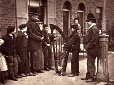 John Tomson. Italian Street Musicians (ca. 1873)