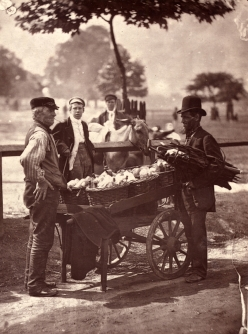 John Tomson. Mush fakers and ginger beer makers. (ca. 1873)