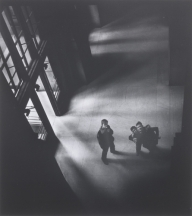 Larry Silver (American, b. 1934) Penn Station, 1951