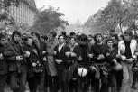 Manifestación estudiantil, París, Junio de 1968 Henri Cartier-Bresson