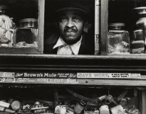 Morris Engel. Harlem Merchant, New York, from Harlem Document, 1936-40, 1937
