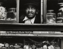 Morris Engel. Harlem Merchant, New York, from Harlem Document, 1936-40, 1937