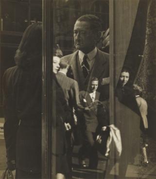 Nancy Bulkeley (American, 1913 - 1988) Madison Avenue, c. 1946 Gelatin silver print