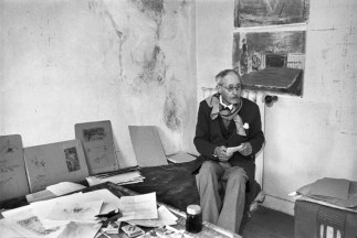 Pierre Bonnard, Le Cannet, France 1944 Henri Cartier-Bresson