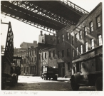 Alexander Alland. Untitled (Brooklyn Bridge), c. 1938