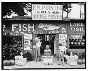 Roadside stand near Birmingham, Alabama Walker Evans