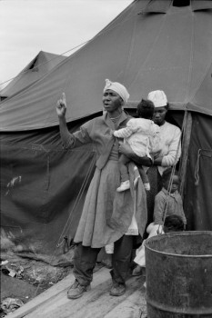 Tent City, Near Somerville, Tennessee 1961 Henri Cartier-Bresson
