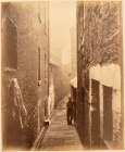 Thomas Annan Plate 26- Close, No. 30 Saltmarket. Tenements and made down housing side by side