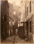 Thomas Annan Plate 7- Close, No. 75 High Street. Washing was hung to dry in back courts which also contained gutters for sewage
