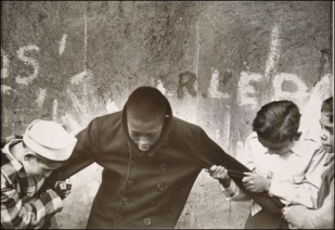 Vivian Cherry (born 1920, Manhattan, New York) Game of Lynching, East Harlem, 1947.Gelatin silver print Columbus Museum of Art, Ohio, Photo League Collection