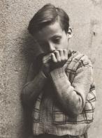 Walter Rosenblum (American, 1919-2006) Boy with Harmonica, 1952