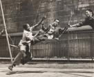 Walter Rosenblum. Three Boys on Swings, Pitt Street, New York, 1938