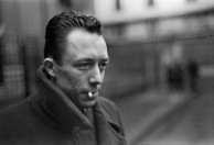 1944 Albert Camus, Paris. Henri Cartier Bresson