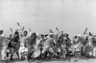 1947 Refugees Performing Exercises, Kurukshetra, India Henri Cartier-Bresson