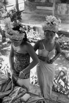 1949 Preparations for the Baris Dance, Ubud, Bali, Indonesia Henri Cartier-Bresson