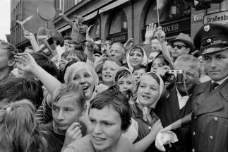 1962. Visita del General De Gaulle a Munich. Henri Cartier-Bresson.