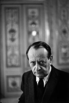 1968 André Malraux, París. Henri Cartier Bresson