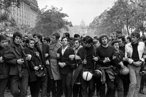 1968 Student Demonstration, Paris Henri Cartier-Bresson