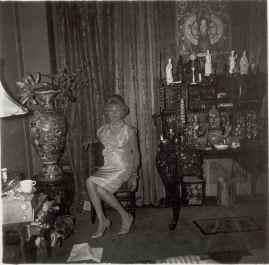 A widow in a bedroom, N.Y.C., 1963 Diane ARbus