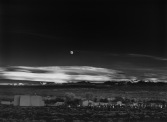 Ansel Adams- Moonrise, Hernandez, New Mexico, 1941