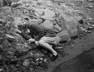 Henri Cartier Bresson. Dessau. 1945