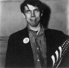 Diane Arbus, Patriotic young man with a flag, 1967 Diane Arbus