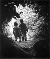 "W. Eugene Smith. ""The walk to the paradise garden"" (1946)"