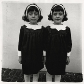 Identical twins, Roselle, New Jersey 1967 Diane Arbus