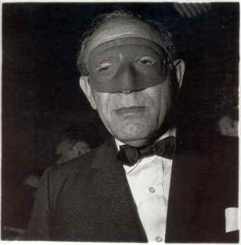 Masked Man at the Ball, N.Y.C., 1967 Diane Arbus