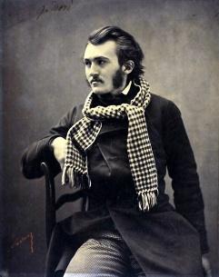 Nadar - Gaspard Felix Tournachon -1800s-old-portrait-photographs-felix-nadar-illustrator-gustave-dore