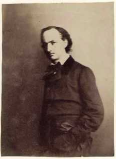 Nadar - Gaspard Felix Tournachon -charles-beaudelaire-1856-58